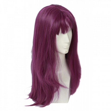Descendants 2 Movie Mal Purple Cosplay Wig