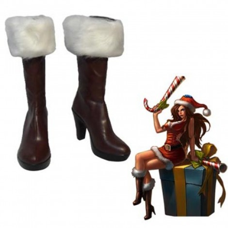 League of Legends Miss Fortune Cosplay Shoes Boots