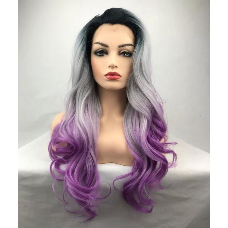 Lace Front Long Wavy...