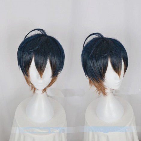 Act! Addict! Actors! A3! Spring Troupe Usui Masumi Short Cosplay Wig