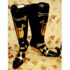 Ao no Exorcist Amaimon Anime PU Cosplay Boots Shoes