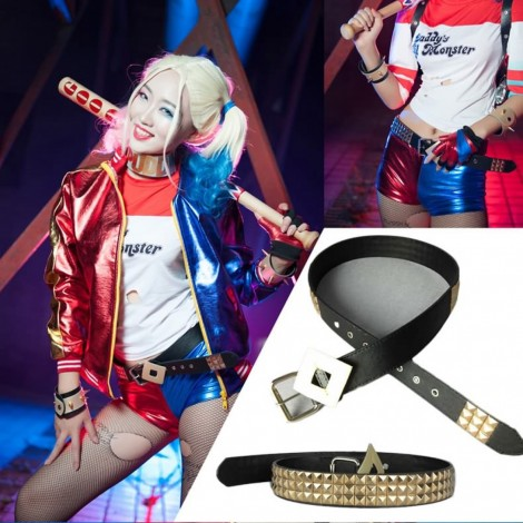 Suicide Squad Harley Quinn Cosplay Accessories