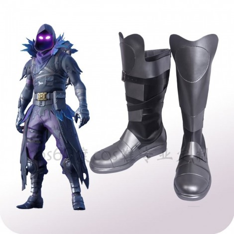 Fortnite Raven Cosplay Shoes