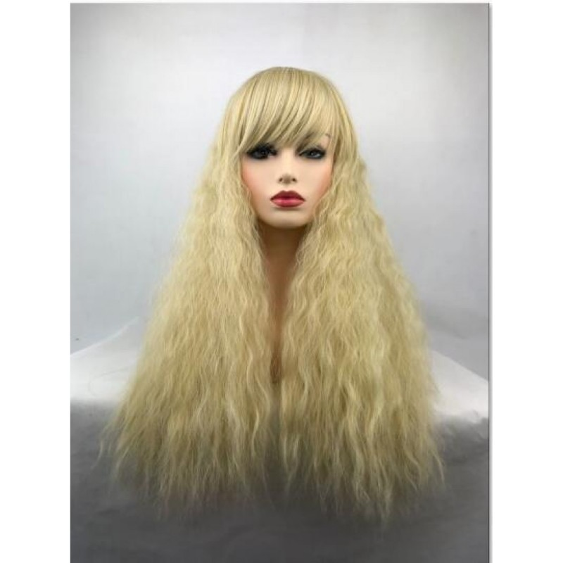 Blonde Long Curly He...
