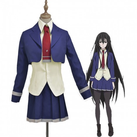 Armed Girl's Machiavellism Kirukiru Amou Cosplay Uniform Costumes
