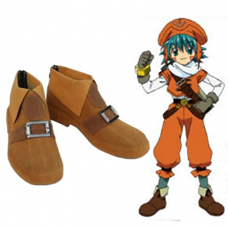 Hack Link Azure Flame Kite cosplay shoes boots